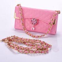 For Samsung S2 S3 S4 S5 S6 S7 Edge PLUS Case Fold Leather Handbag Case For