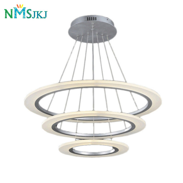 Moderne LED salon salle   manger lampes suspendues suspension