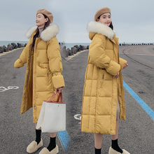 2020 Long warm thick women jacket winter womens wadded down outwear chaqueta mujer coat parka