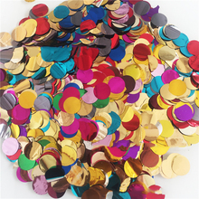 20g 1.5cm Gold Confetti  Party Balloons With Golden Paper Confetti Dots For Party Decorations Wedding Decorations