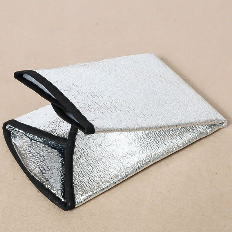 Car Steering Wheel Sun Shade Cover Sunshade Reflective Car Sun Sunshade Protection Protector Silver Aluminum Film
