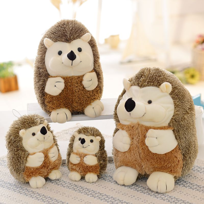 LREA 4 Sizes Animal Doll Kawaii Soft Hedgehog Plush Toys High Quality Home Decoration Gift For Kids Gift Dolls Cushion Pillow
