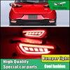 2PCS Car Styling LED Rear Bumper Reflector Light For Mazda CX 3 2016 2017 LED DRL