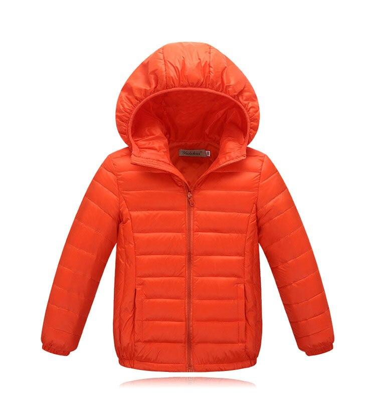Avrupa tarzı moda çocuk clothings turuncu mavi kahverengi kış ceket erkek 2016