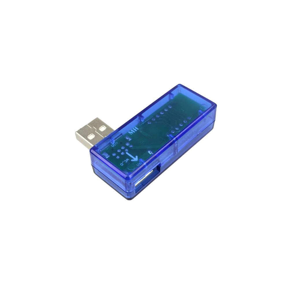 Inteligentna elektronika Cyfrowe USB Mobilne zasilanie Prąd Tester - Przyrządy pomiarowe - Zdjęcie 3
