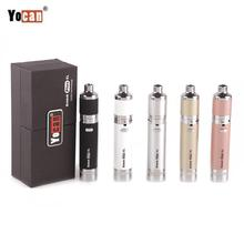 Yocan Evolve Plus XL Wax Dab Kit Built-in 1400mAh Battery  Adjust Airflow XL Coil Atomizer Vape Dry Herb Concentrate Vaporizer цена