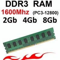Ddr3 RAM 4Gb Memory RAM Ddr3 2Gb 1600Mhz 2Gb 4Gb 8Gb 1600 DDR3 8gb RAM For