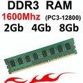 Memoria RAM ddr3 de 4 Gb de memoria RAM ddr3 2 Gb 1600 Mhz-1600 DDR3 8 gb ram-para amd e intel ddr3 memoria ram 2g 4g 8G