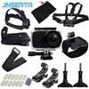 JINSERTA 10 In 1 Action Camera Accessories Set For Mijia 45m Waterproof Case Camera Mount Selfie