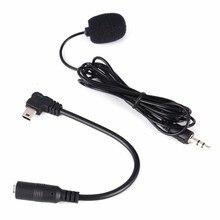 Mini 3,5mm Externe Mikrofon Für GoPro Hero 3/3 +/4 Kamera Zubehör + Audio Coverter Kabel Für Gehen pro Hero 4 USB Mikrofon