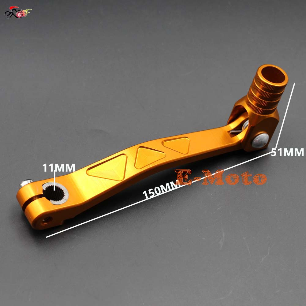 TDPRO 11mm Gear Shifter Shift Lever for Motorcycle Pit Dirt Trail Bike 50cc 70cc 110cc 125cc