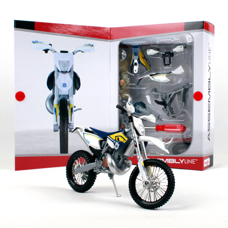 Maisto 1:12 Husqvarna FE 501 Assemble DIY Motorcycle Bike Model KITS NEW IN BOX