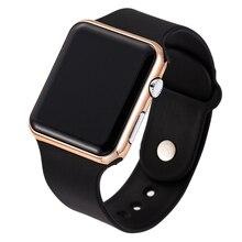 цена на Relogio Masculino Men's Sport Casual Digital Watches Men Silicone Military Electronic Clock Man LED  Wrist Watch Reloj Saatler