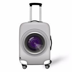 Coloranimal тележка suistcase Камера принт Чемодан эластичный чехол Защитный пыле чехол с Zapper относятся к 18-30 дюймов