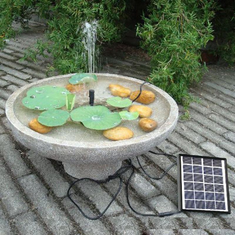 de jardn de alta eficiencia sin escobillas bomba de agua solar para el ciclo del agua