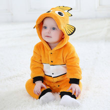 Kingguo 2018 lovely orange fish Toddler Unisex-baby spring
