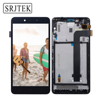 NO Dead Pixels 5 5 FHD ORIGINAL LCD For XIAOMI Redmi Note 2 Display With Frame