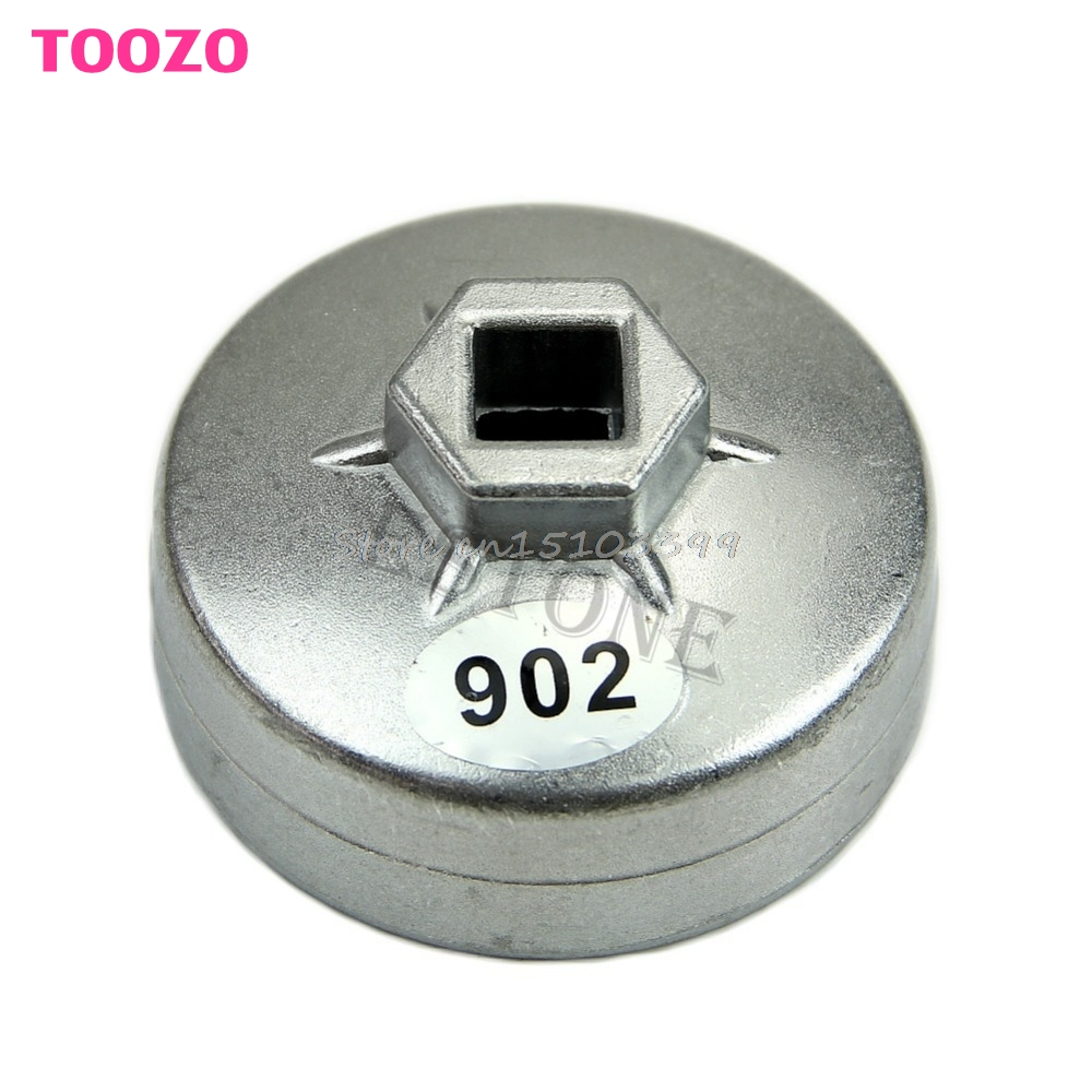 902 Type 14 Flutes Cap Style Oil Filter Wrench 67mm Inner Dia For Ford Precision-stamped Drop Ship