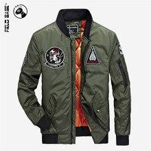 Field Base Bomber Jacket Men Military Army Men Jacket Coats Flying Jackets Spring Autumn Baseball Outerwear Male Parkas PLQ8703