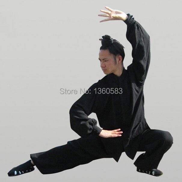 Пользовательские 8 цвета Китайский Удан Тай-чи одежда Белье saolin вин чун кунг-фу Равномерное Спортивный Костюм ушу утренняя гимнастика