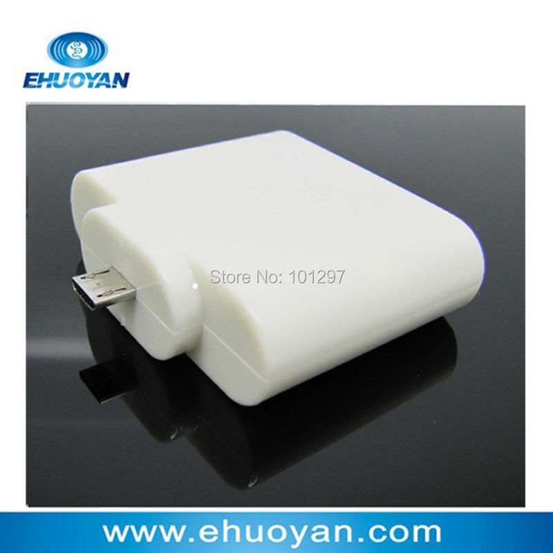 Anti-Cloned Android Mobile Tablet Leitor NFC de RFID Micro USB Plug & Play ER200L-4/7 bytes UID adaptável + 2 Tags
