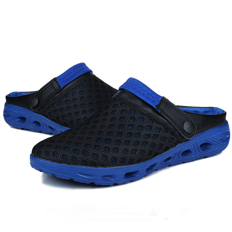 2017 Sneakers men Sandals Summer Mesh Women and Men Outdoor Light soft Running Sport Shoes Portable Beach Trainers size 36-46