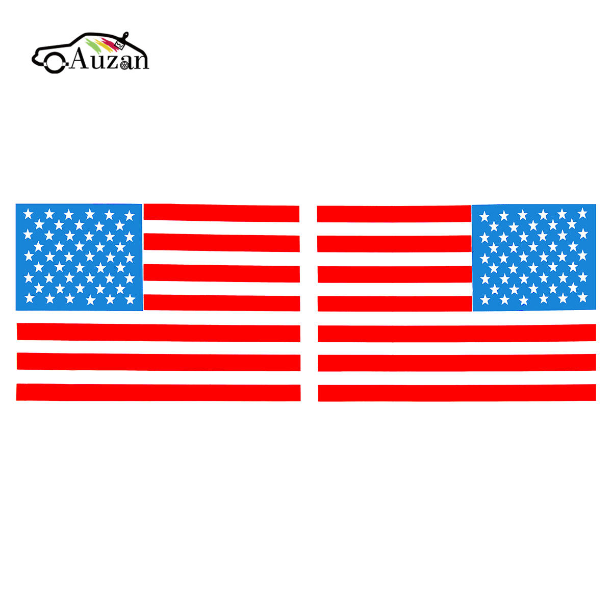 Aliexpresscom  Buy  Pair  Inch American Flag USA Mirrored - Vinyl decals for boats