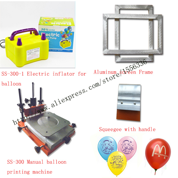 manual balloon printing machine in screen printers