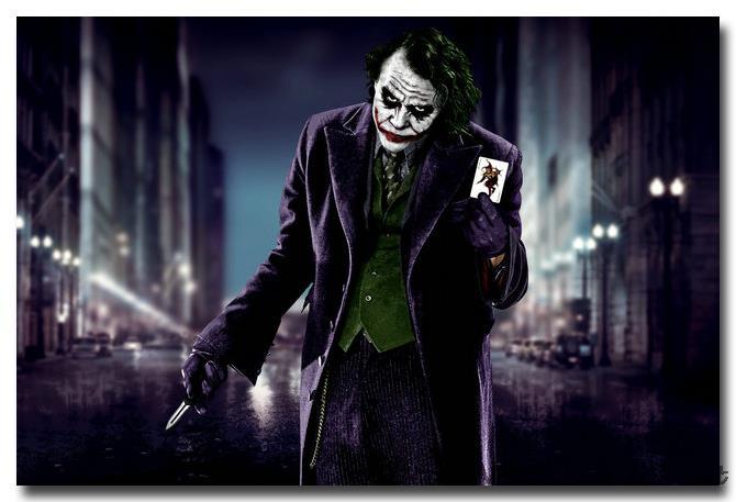 NICOLESHENTING Joker-Arkham City Batman Arkham Origen de Vídeo Juego de Seda Del