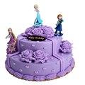 3pcs/Lot Frozen Figures 10cm Princess Elsa Anna Rapunzel Action Figure Pvc Toy Collectible Decoration Best Birthday Gift Kids