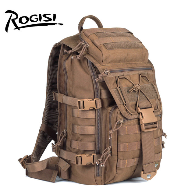Cheap ROGISI Camping Backpack Tactic Shoulders Package Army Rucksack