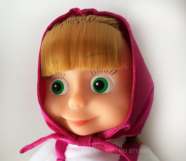 Snabbare frakt masa Plush Dolls Kids Leksaker Cartoon Babyleksaker - Dockor och tillbehör - Foto 6
