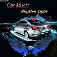 Universal Car styling Music Rhythm Car Sticker Music Equalizer with RGB Led Controller Cigarette lighter Decorative Lamps