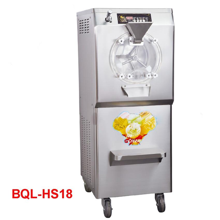 BQL-HS18 110V/220V Stainless Steel Commercial Gelato Maker Brand New Italian Ice Cream Machine High Quality 28-35L/H 2200W edtid new high quality small commercial ice machine household ice machine tea milk shop