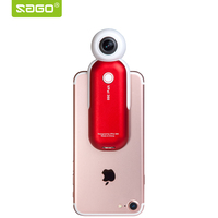 Sago 2017 360 Camera HD Panoramic VR Camera 210 Degree Dual Wide Angle Fisheye Lends For