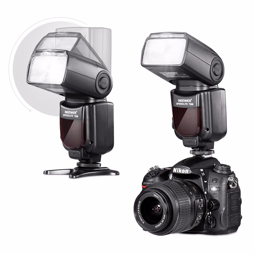 Image 3 - Neewer VK750 II i TTL Speedlite Flash w/ LCD Display for Nikon D7100 D7000 D5300 D5200 D700 D600 D90 D80 D80 Digital SLR Camera-in Flashes from Consumer Electronics