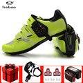Tiebao обувь для езды на велосипеде для мужчин  набор для езды на велосипеде  кроссовки  дышащие  для занятий спортом на открытом воздухе  профе...