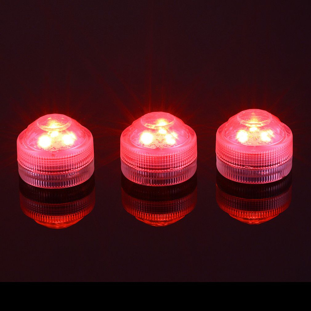 10pcs Color Changing Waterproof Underwater Led Decorative Light Fish ...
