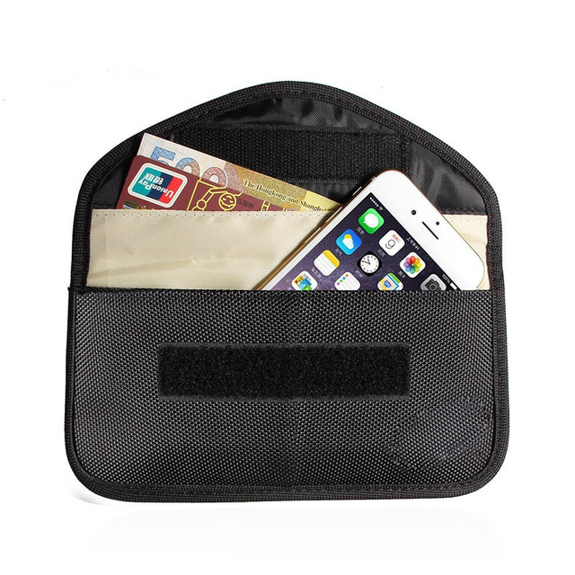 70346c4386be US $3.99 |New GSM 3G 4G LTE GPS RF RFID Signal Blocking Bag Anti Radiation  Signal Shielding Pouch Wallet Case for Cell Phone 6 Inch-in Phone Pouch ...