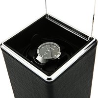 New Arrival 4 Colors Black Automatic Single Watch Winder Jewelry Watch Display Box Case Rectangle Mute Box For Watches Gift