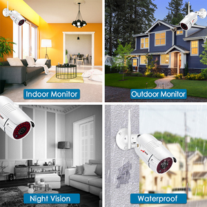 Image 5 - ANRAN WIFI Security Camera System 4 Channel 1080P Home& Outdoor Wireless Video Security Camers System Easy Remote Control&View