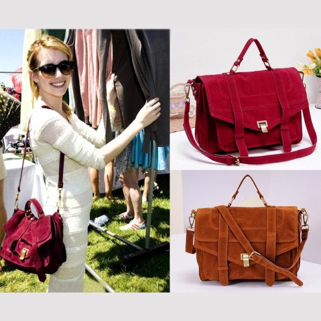 Women S Handbag Bags Emma Roberts Savce Cranberry Ps1 Vintage Genuine Leather Messenger Bag Gg4090 In Shoulder From Luggage