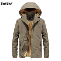 BOLUBAO Brand Men Jacket Coats Clothing Autumn Winter Warm Military Windbreaker Jacket Fashion Mens Jacket Winter Outwear