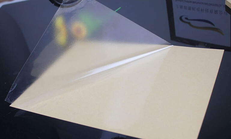 15 Sheets A4 Clear Transparent Self Adhesive Vinyl Film Label Sticker For Laser Printer 21 x 29.7cm