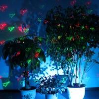 Suny xmas outdoor/indoor 12 patronen gobos gr laser project landschap verlichting voor tuin home verlichting show beelden groen rood