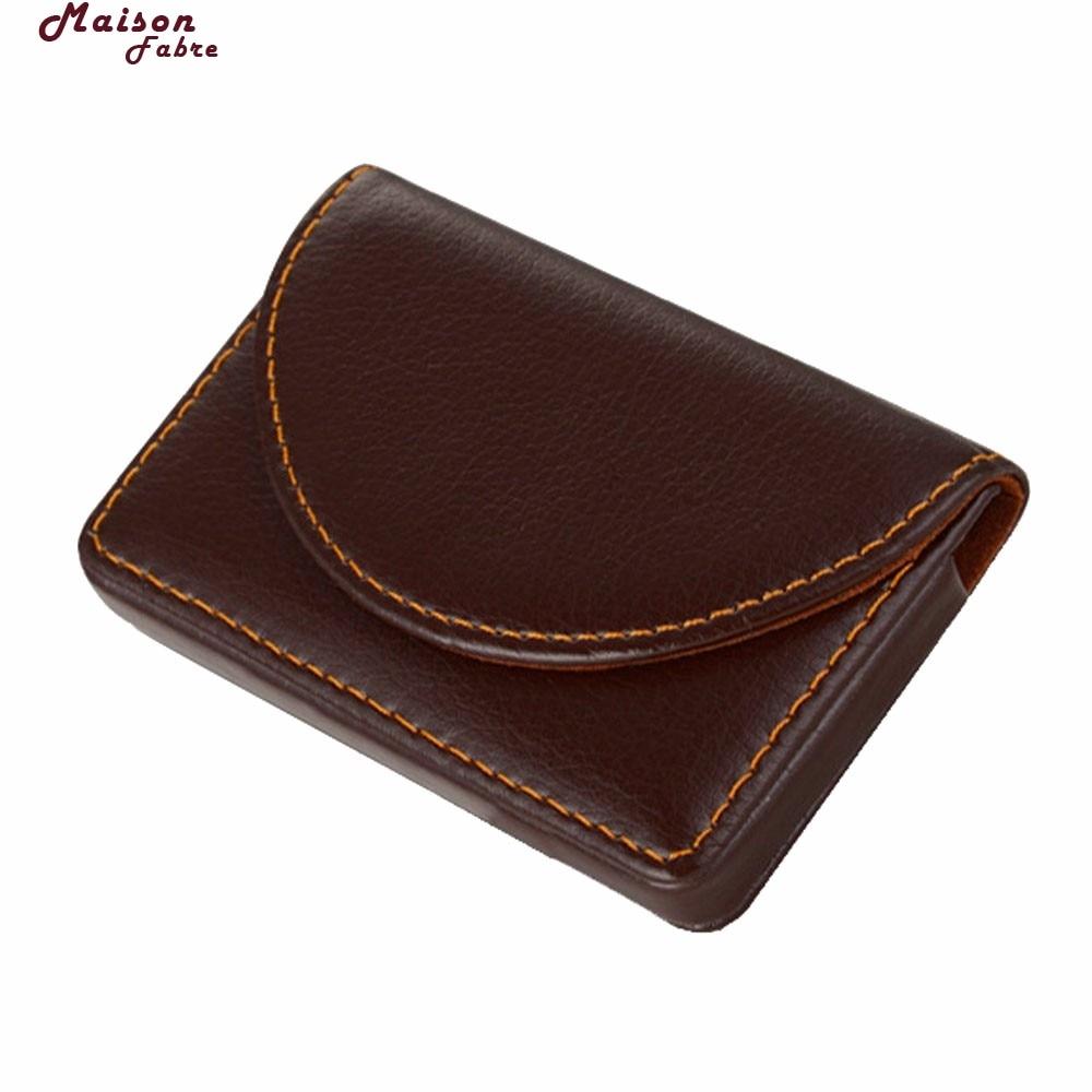 Maison Fabre plånbok män läder plånbok män äkta läder - Plånböcker - Foto 6
