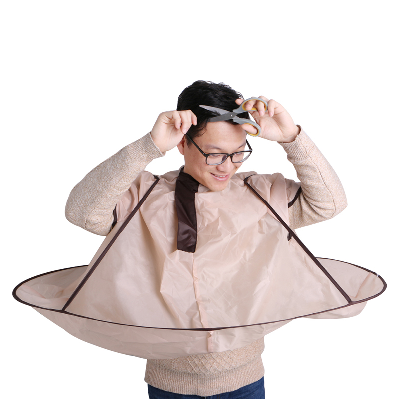 Unisex Foldable Hair Cutting Cape Cloak Umbrella Wrap Salon Barber For Adult Hair Styling Tools Cover Fashion New Hot