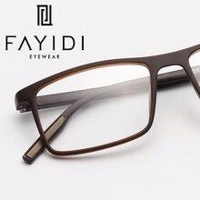 TR90 очки с квадратной оправой Для женщин простой близорукость оптически прозрачный рецепт оправы для глаз# MZ06-08
