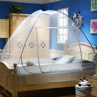 Mosquito Mesh Popup Dome Tent Design Bottomed Double Open Foldable Mosquito Net For Indoor Outdoor Travel