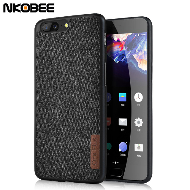 the latest 0e789 1ce72 US $4.49 |NKOBEE Oneplus 5 Case Cotton Fabric Cover For One Plus 5 Oneplus  6 Cases Soft TPU Back Cover Funda For Oneplus 6 Phone Case-in Fitted Cases  ...